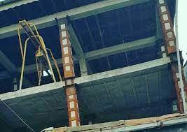 تقویت ساختمان و سازه با ژاکت فلزی
